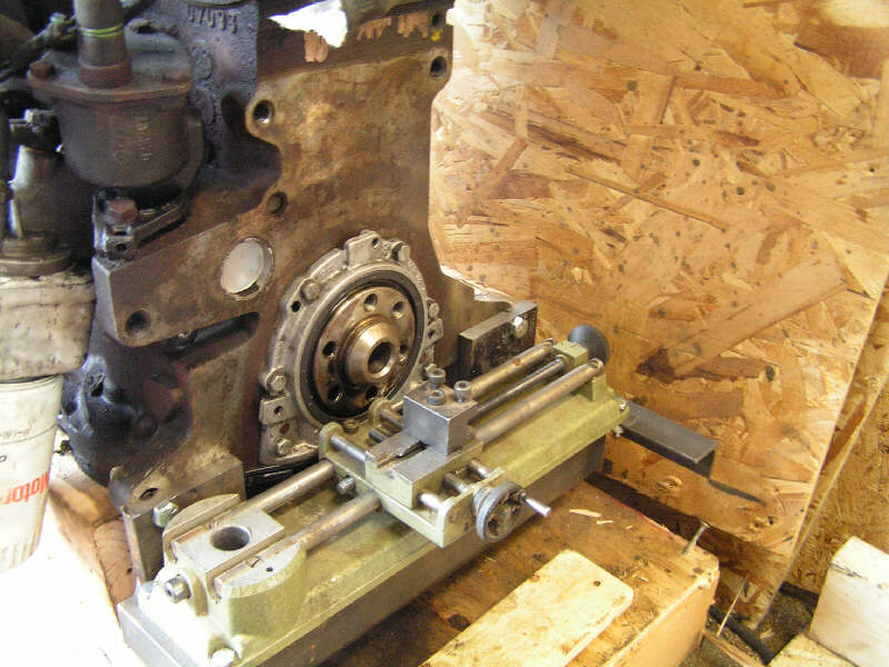 VW TD Engine swap into Series Rover