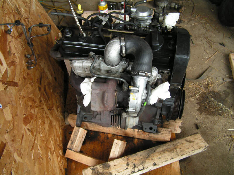 Vw td engine swap into series rover publicscrutiny